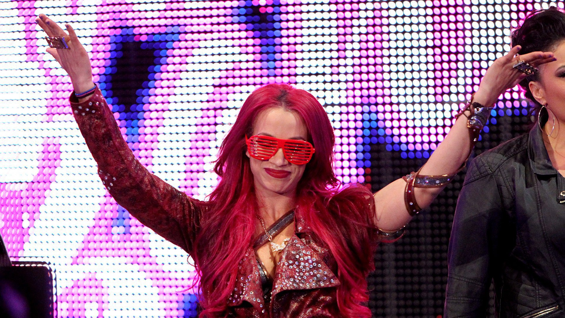 Sasha Banks may be wicked, but she received a loving response from her hometown Boston crowd.