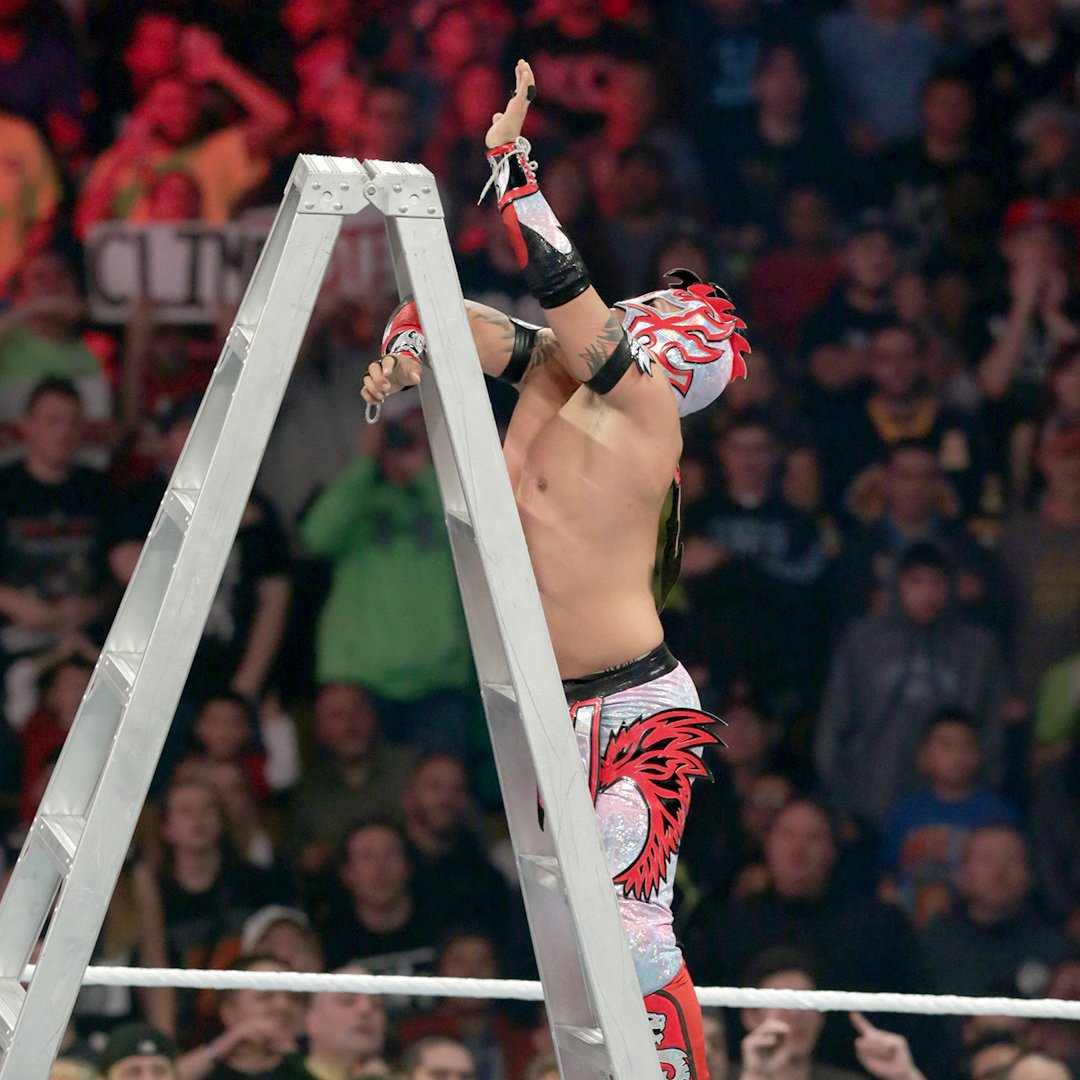 Kalisto is mere inches away from scoring The Lucha Dragons' first WWE Tag Team Championship.