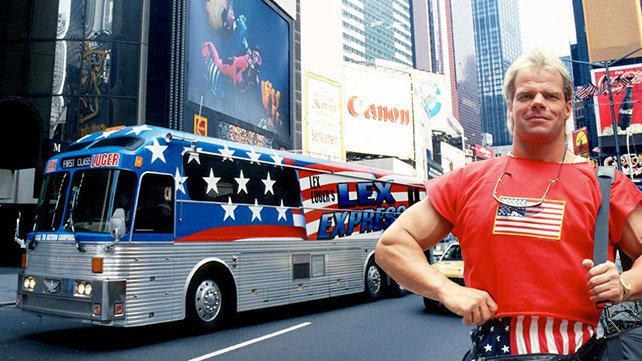 All Aboard The Lex Express With Lex Luger Wwe Com