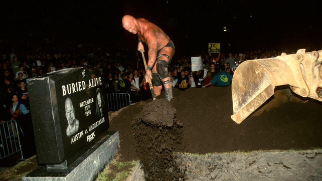 The Grave History of Buried Alive Matches: photos | WWE.com