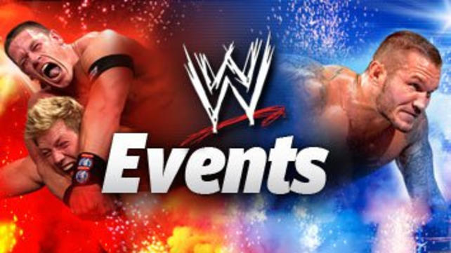 WWE Tickets and Live Events Information from WWE | WWE.com