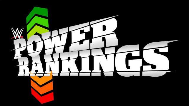 WWE POWER RANKING