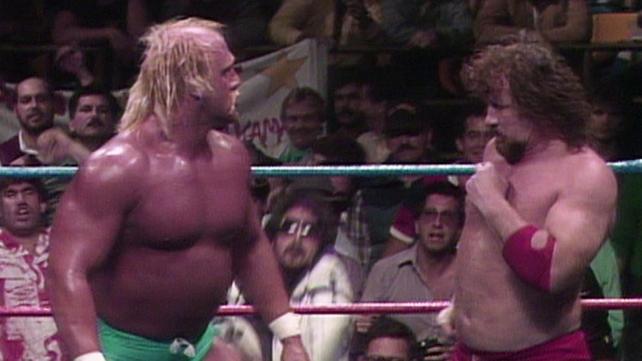 Wwe hulk hogan vs ric flair - b