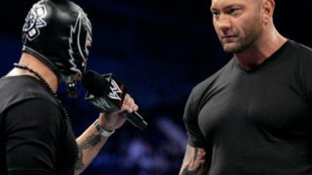 Rey Mysterio And Batista Friendship Batista And Rey Mysterio on oscar gutierrez rey mysterio aka