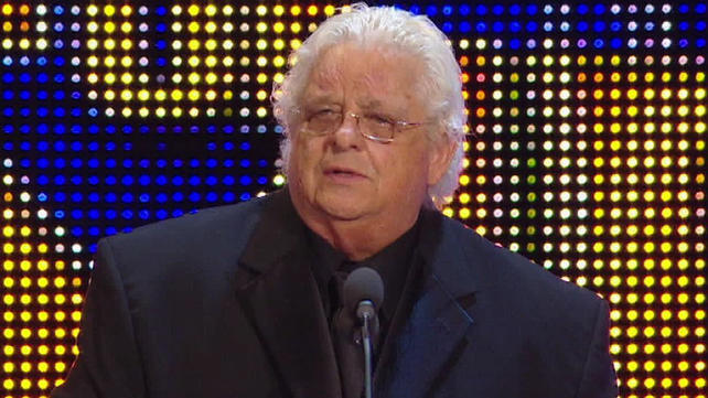 The 72-year old son of father (?) and mother(?), 185 cm tall Dusty Rhodes in 2018 photo