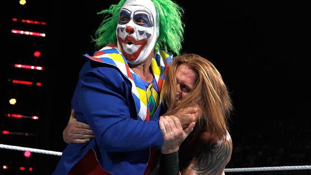WWE.com: Doink the Clown vs. Heath Slater: Raw, July 2, 2012