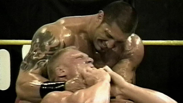 Batista Vs Brock Lesnar Ovw Brock lesnar vs  batista  ovwBatista Vs Brock Lesnar Ovw