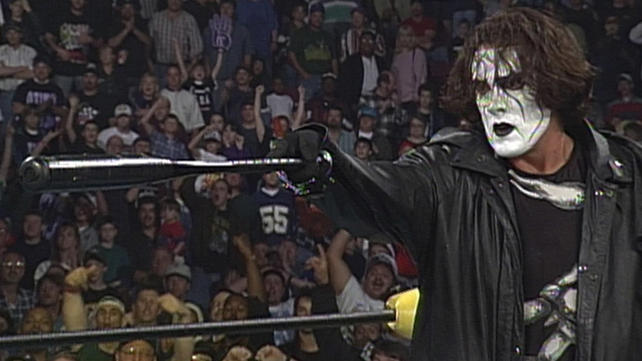 Sting drops in on The New World Order: WCW Uncensored 1997 ...
