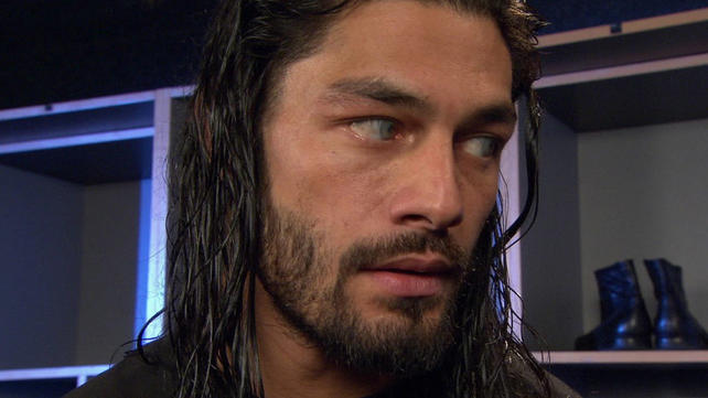 What happened to Roman Reigns' eyes? : SquaredCircle