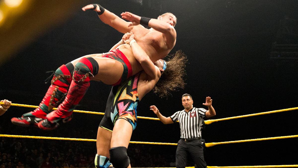 WWE NXT Spotlight 02/24/16 by Kurt Zamora - TJR Wrestling