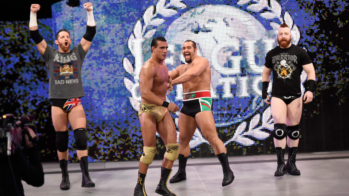 The New Day Vs The League Of Nations Wwe Tag Team Championship Match Photos Wwe