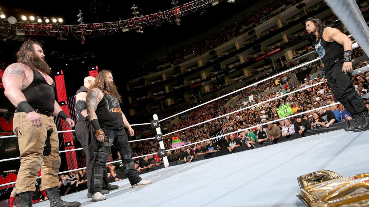When The League closes in on Reigns, The Wyatt Family comes to help clean house.