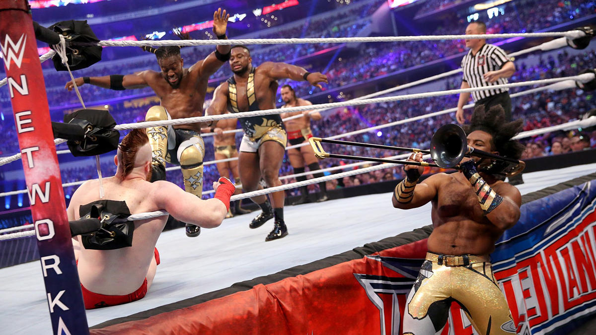 The New Day Vs The League Of Nations Photos Wwe