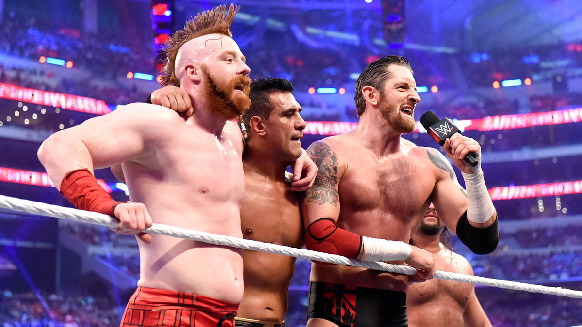 The victorious League declares that no three Superstars in WWE history can stop them.