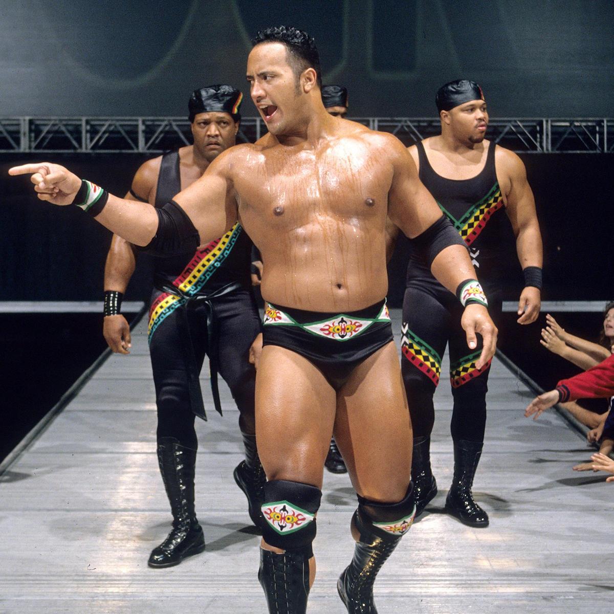 Wwe wrestling the rock