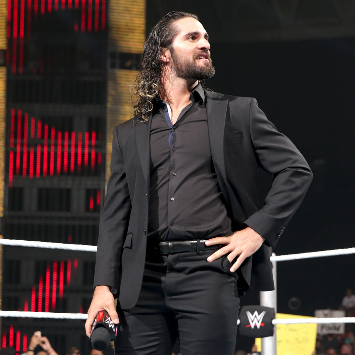 Seth Rollins Wearing His Shirt