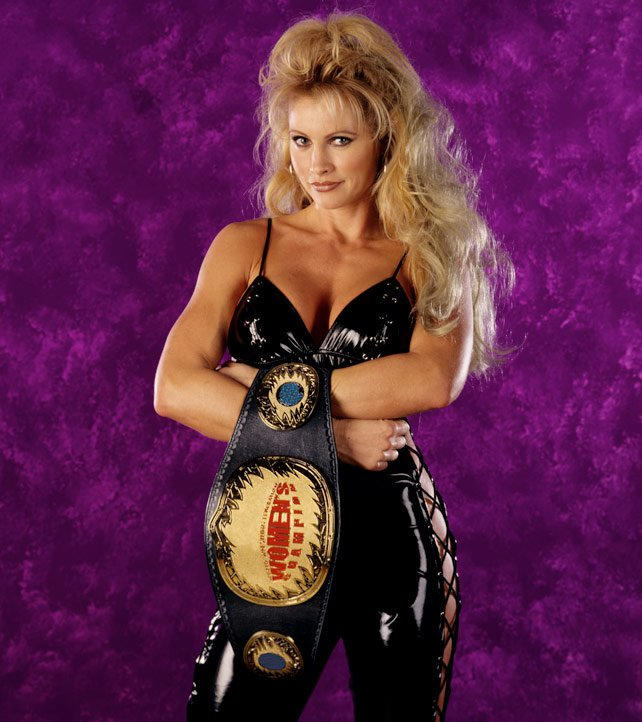 In addition to holding the Women's Title, Sable was also a two-time Slammy Award winner.