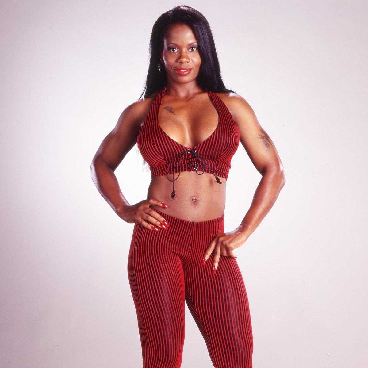 Ebony black female pro wrestlers photo