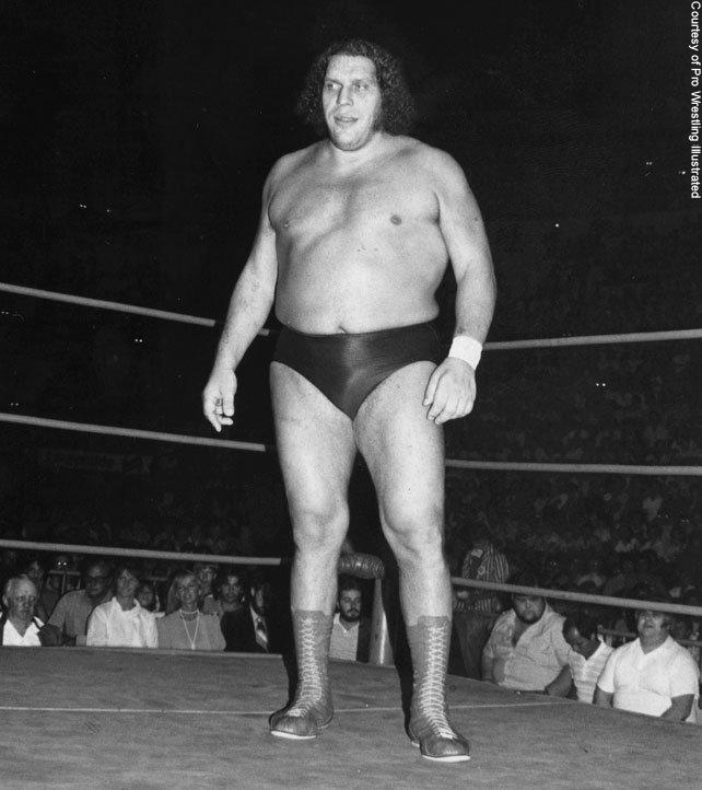 The 50 Most Epic Photos Of Andre The Giant Wwe