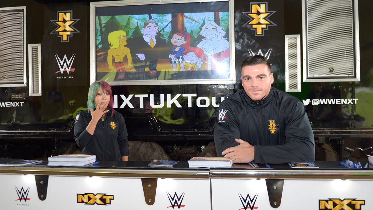 WWE NXT at the Download Festival, Day 2: photos | WWE