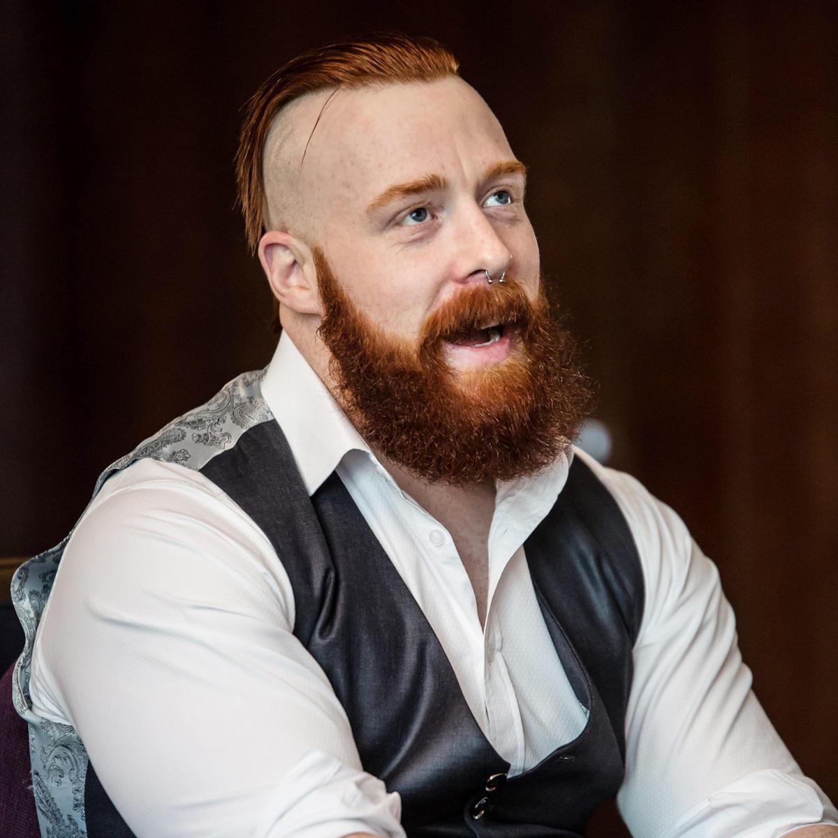 sheamus wwe beard