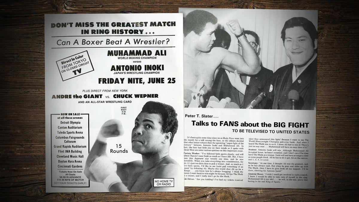 MMA's first big fight: Muhammad Ali vs  Antonio Inoki