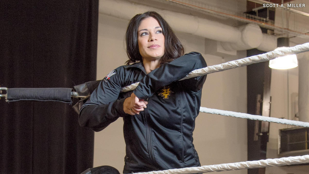 WWE Producer Sarah Stock Released