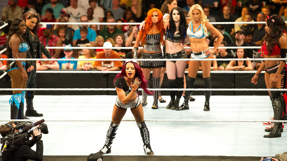 One year later: defining images of the Women's Revolution in WWE | WWE