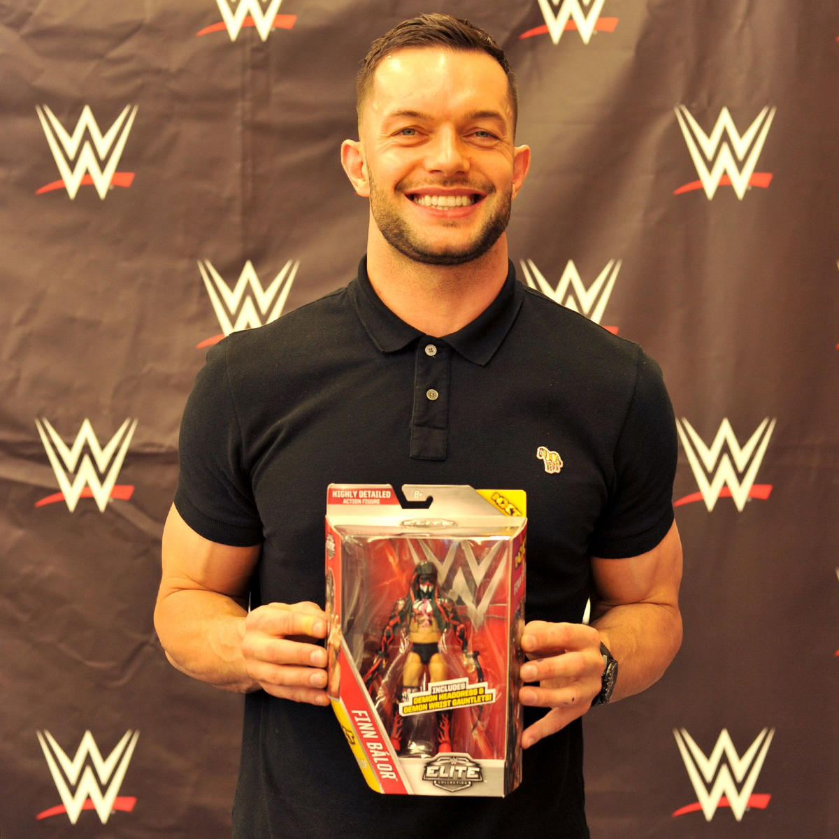 Finn Blor Meets With The Wwe Universe At Toys R Us During