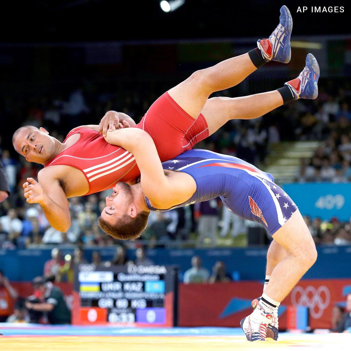 Amateur wrestling chad mcfadden