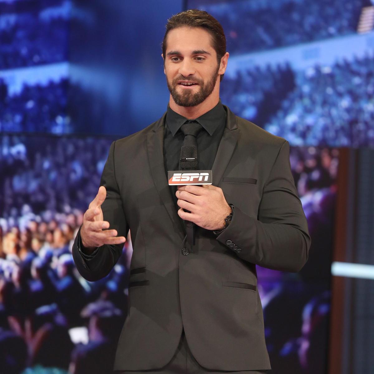 Seth Rollins vists ESPN ahead of SummerSlam: photos | WWE