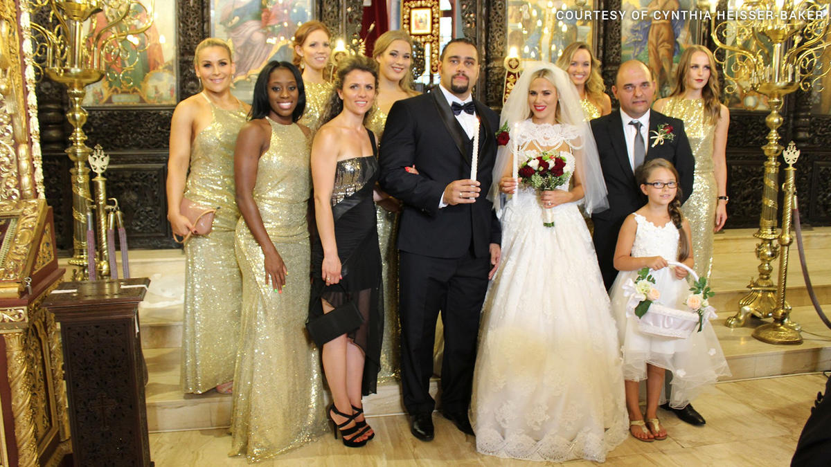 Image result for lana and rusev wedding