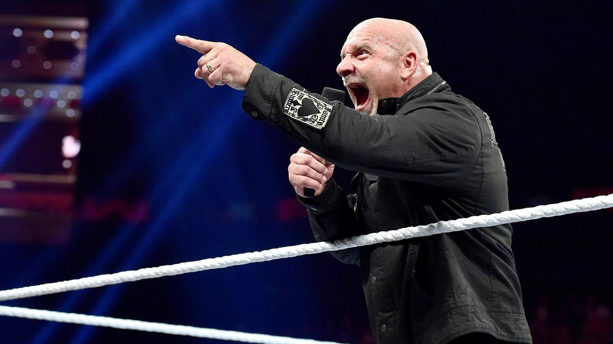 """He finishes by saying, """"Brock Lesnar: You're last!"""""""