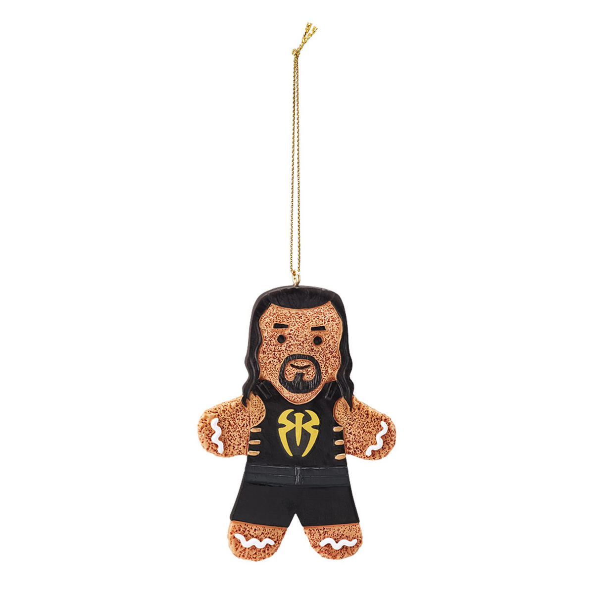 WWE gingerbread men ornaments: photos   WWE
