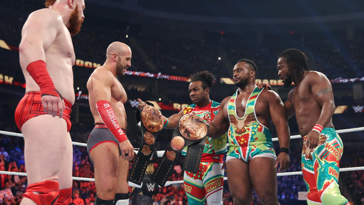 Cesaro & Sheamus shock the WWE Universe and defeat The New Day.
