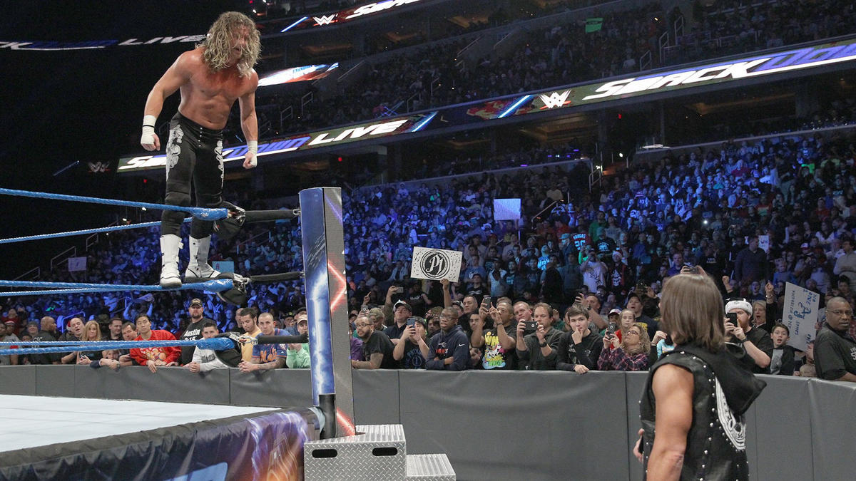 After hitting Ambrose with a superkick, Ziggler becomes the new No. 1 Contender to the WWE Championship!