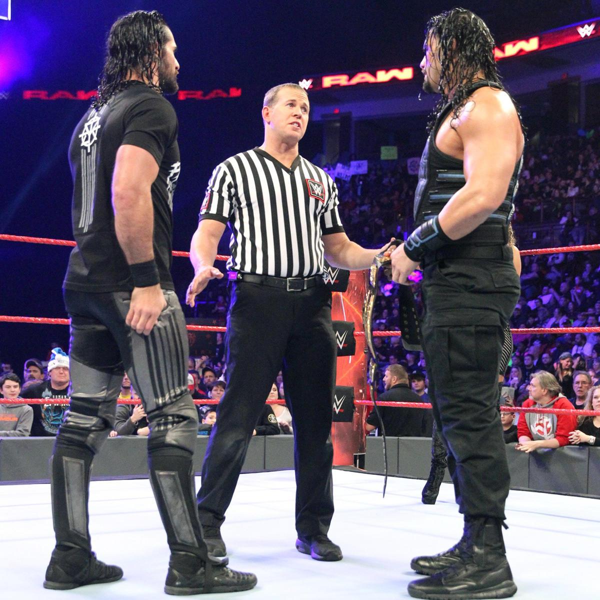 Roman Reigns & Seth Rollins vs  Kevin Owens & Chris Jericho