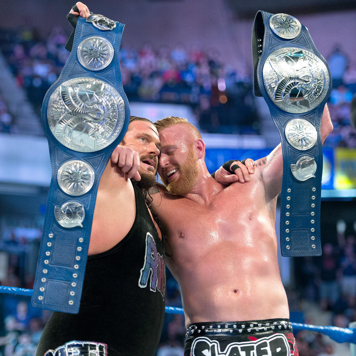 Rhyno & Heath Slater win SmackDown Tag Team Championships: Backlash 2016