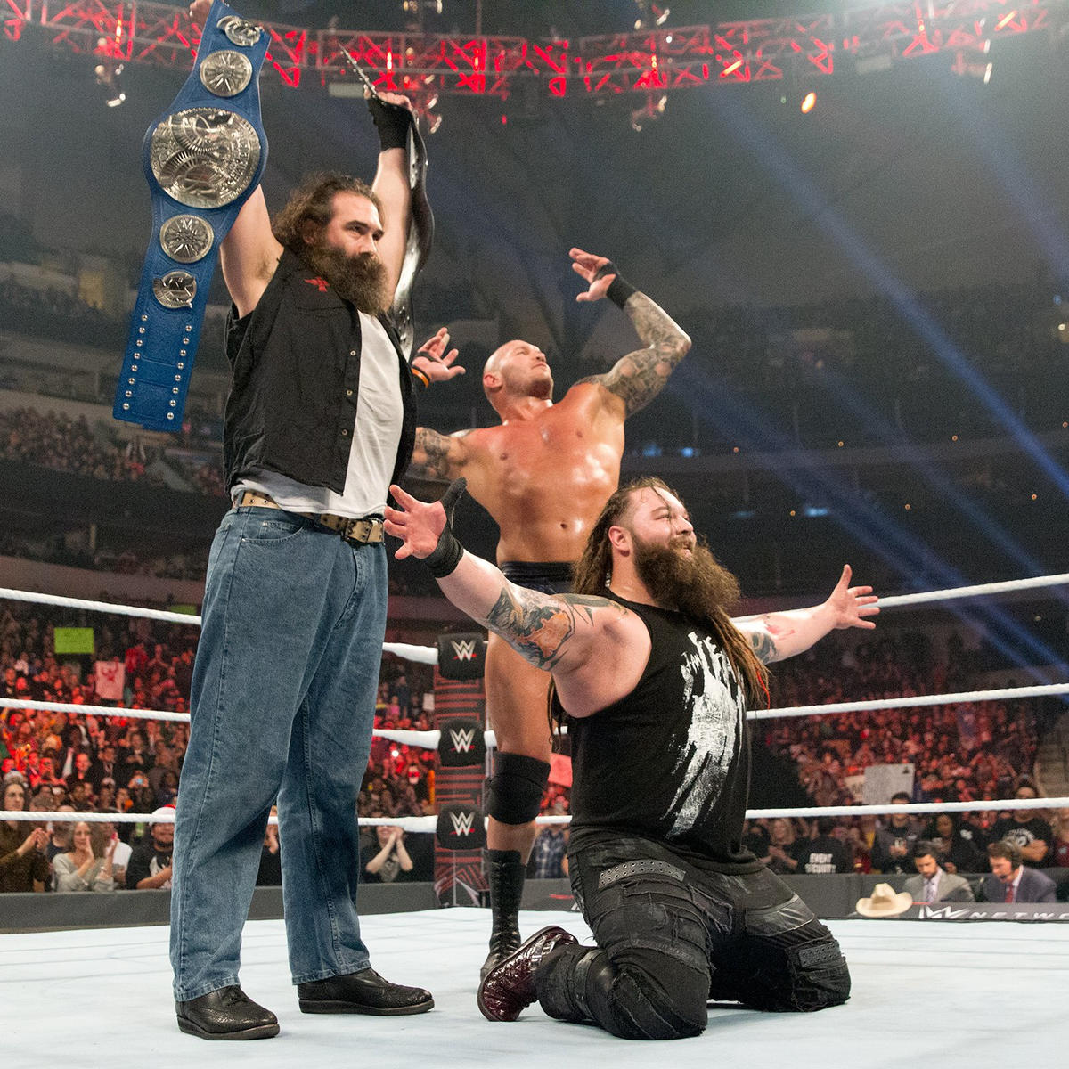 The Wyatt Family wins SmackDown Tag Team Championships: WWE TLC 2016