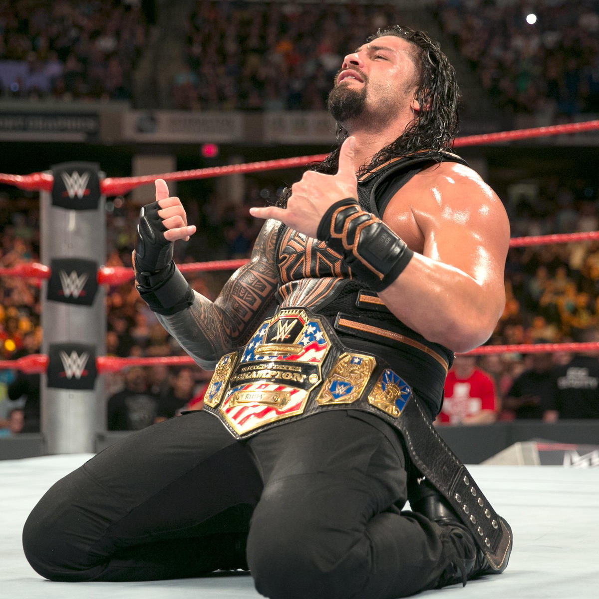 Roman Reigns wins United States Championship: Clash of Champions 2016