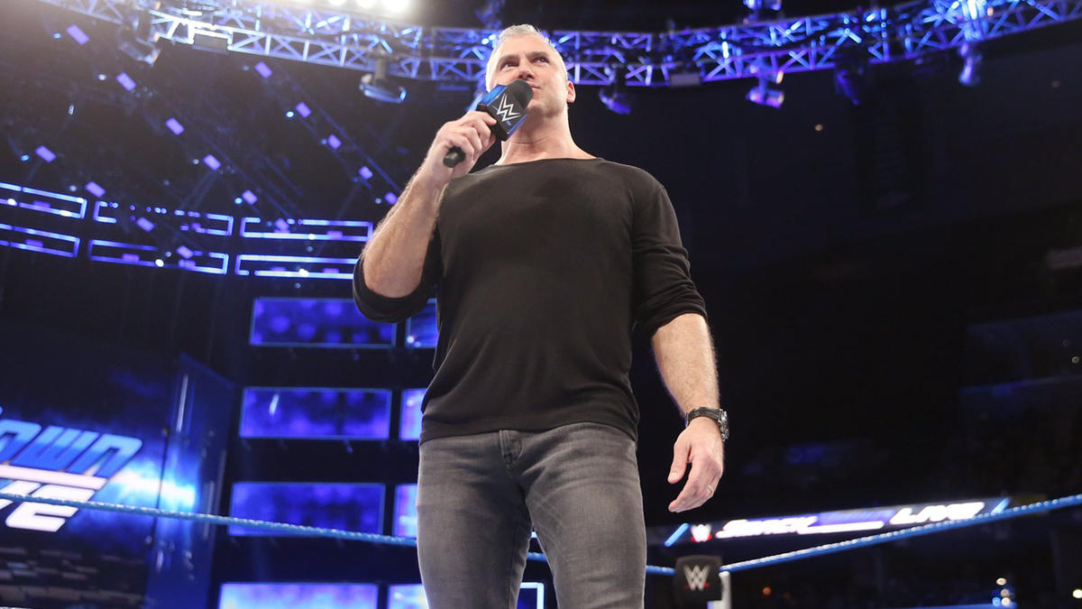 He reminds the WWE Universe that Royal Rumble is just two weeks away, but in four weeks the WWE Championship will be defended inside the Elimination Chamber.