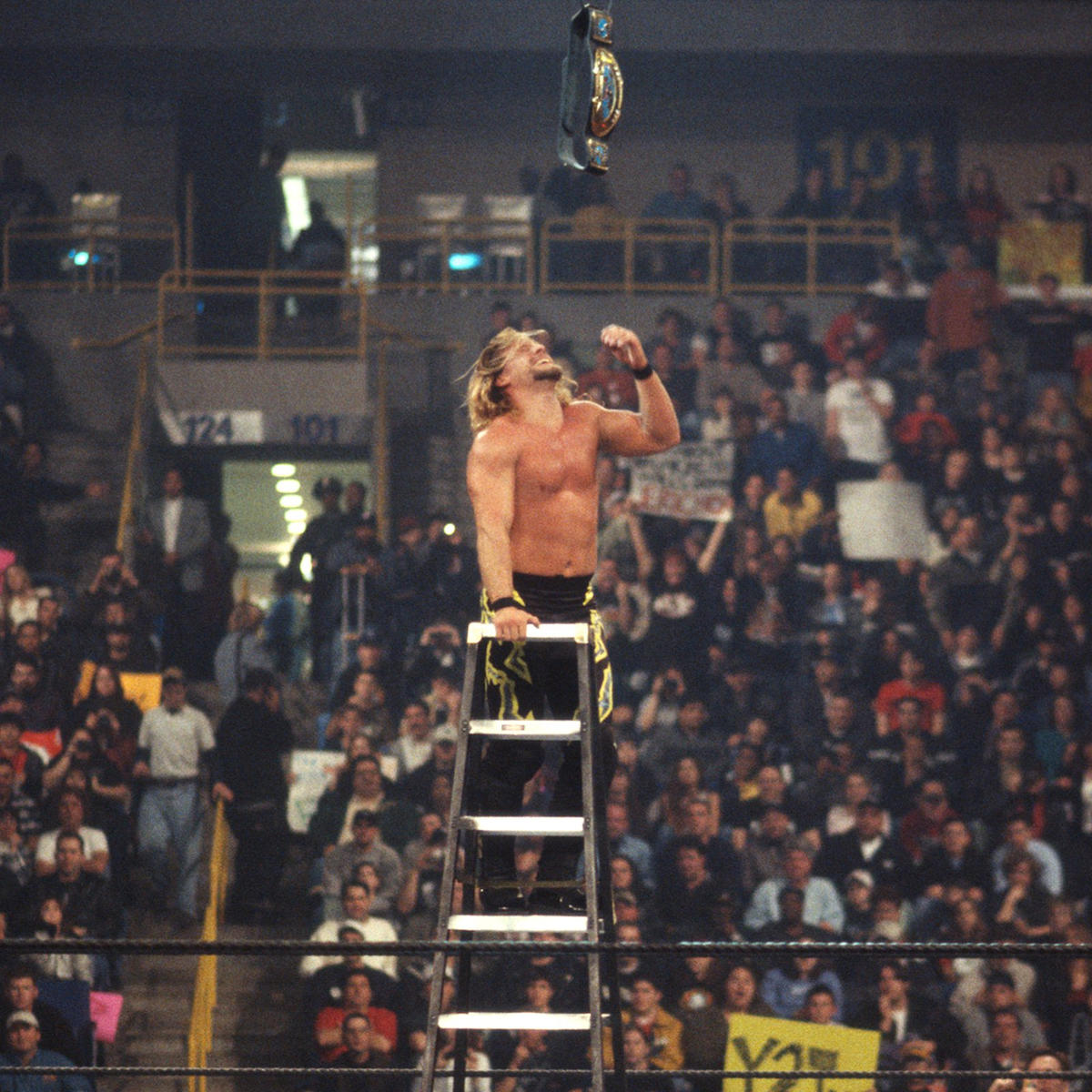 """The Best in the World at What He Does"" became Intercontinental Champion a fourth time at the 2001 Royal Rumble event."