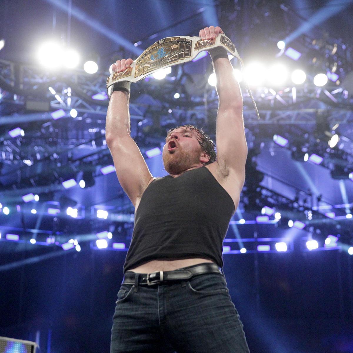Ambrose becomes a two-time Intercontinental Champion on the first SmackDown LIVE of 2017.