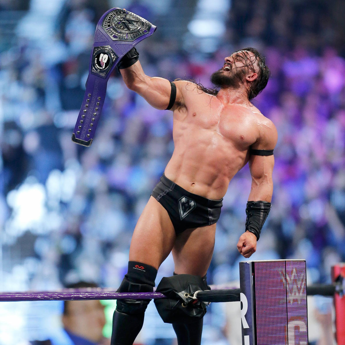 Forcing Swann to tap out, Neville officially becomes King of the Cruiserweights by capturing the Cruiserweight Championship.