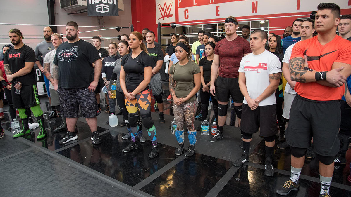 WWE Performance Center tryout: February 2017: photos | WWE