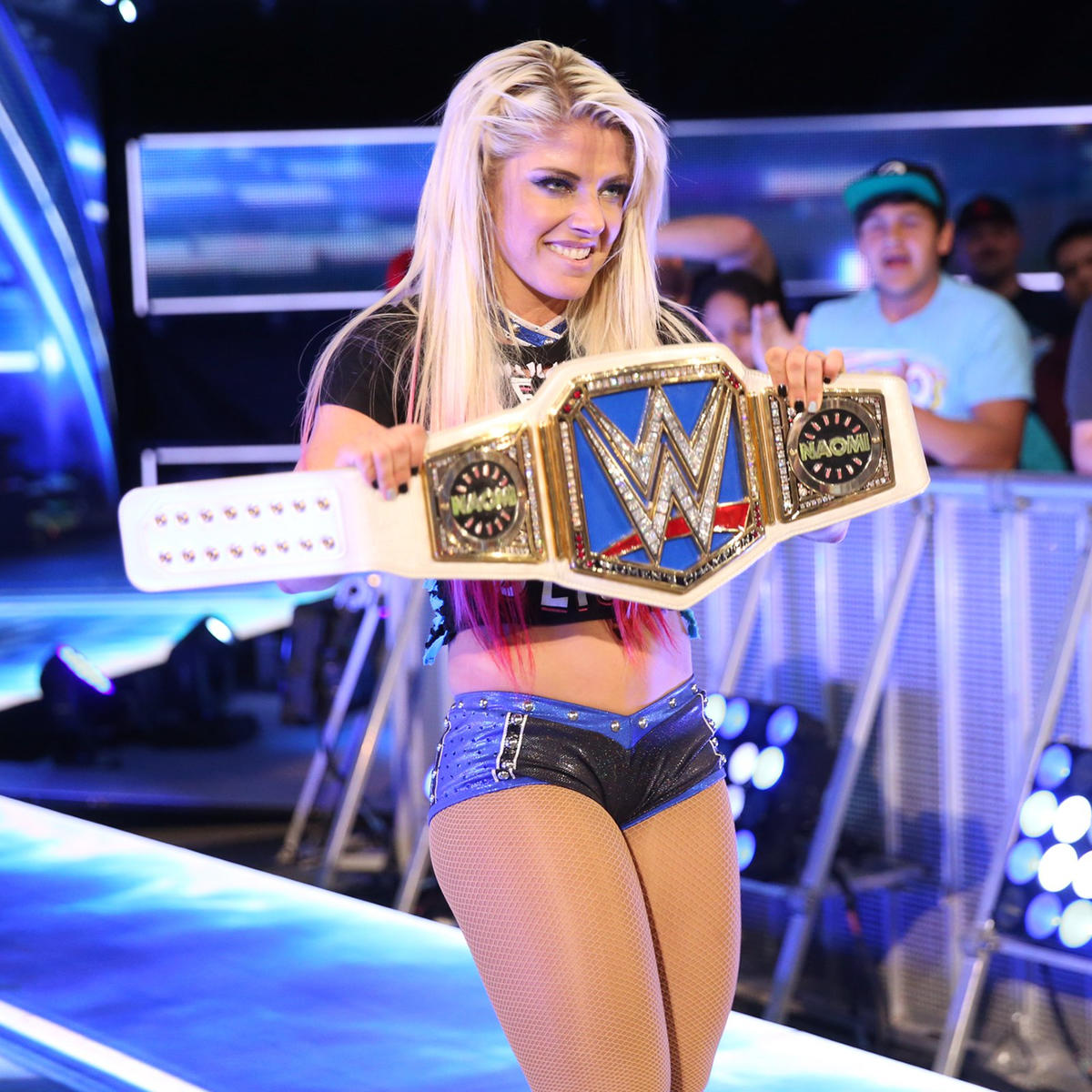 Alexa is the first two-time SmackDown Women's Champion.