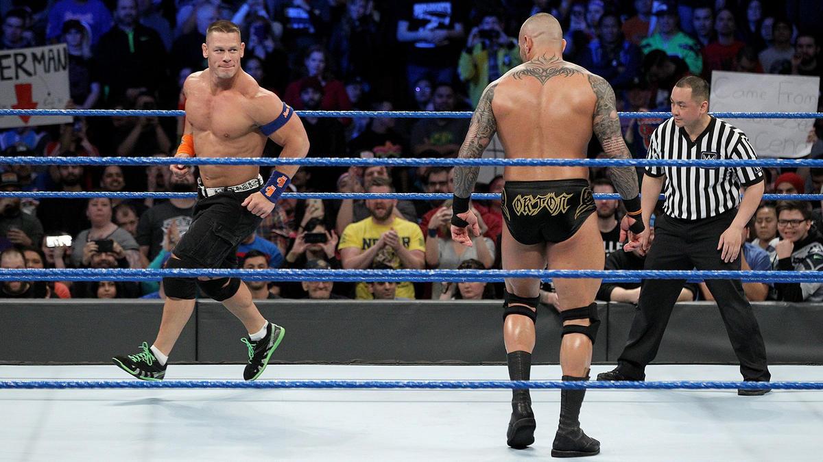 Randy Orton o nieobecności Johna Ceny na gali Crown Jewel