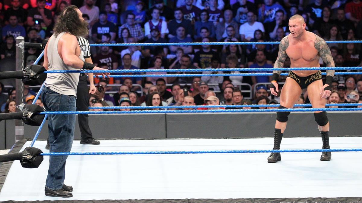Brodie Lee -- Luke Harper vs. Randy Orton