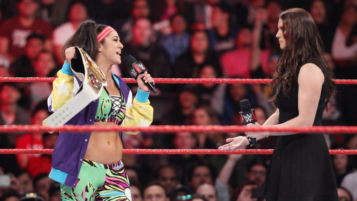 ... Bayley puts it in no uncertain terms that she considers herself a deserving champion.