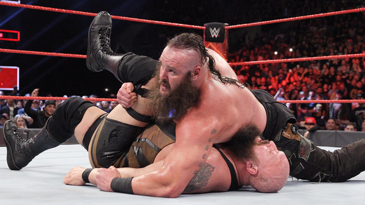 For a second straight week, Strowman has devoured one of WWE's most battle-tested giants.